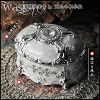 Eden Fox upscale luxury jewelry box retro European princess jewelry box gifts Korea