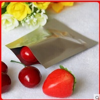 Free Shipping Quality Flat Aluminum foil package Food package  7*10*0.2cm