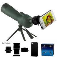 Free shipping Optical Zoom mobile Cellphone Telescope Telephoto Lens For iphone4   4s