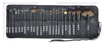 100% New Professional 24pcs Makeup Brush Set Kit Makeup Brushes & tools Make up Brushes Set Brand Make Up Brush Set Case / Bag