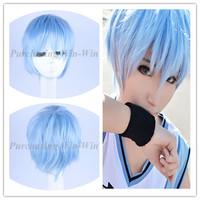 New Fashion! Free shipping!30cm Kuroko's Basketball Tetsuya Kuroko cosplay wig