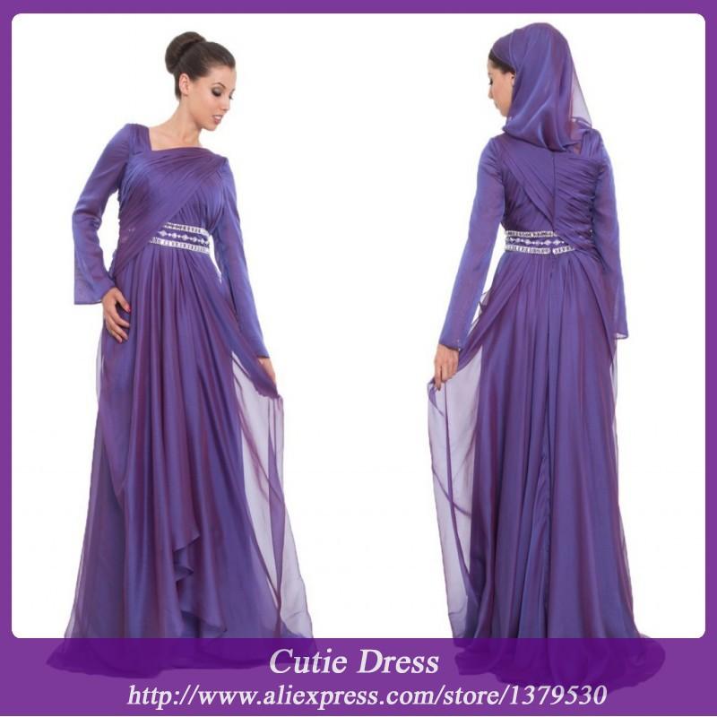 Как сшить мусульманское платье в пол 13