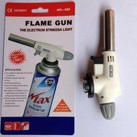 Free shipping High-temperature baking BBQ butane torch flame gun nozzle gun gun point guns card