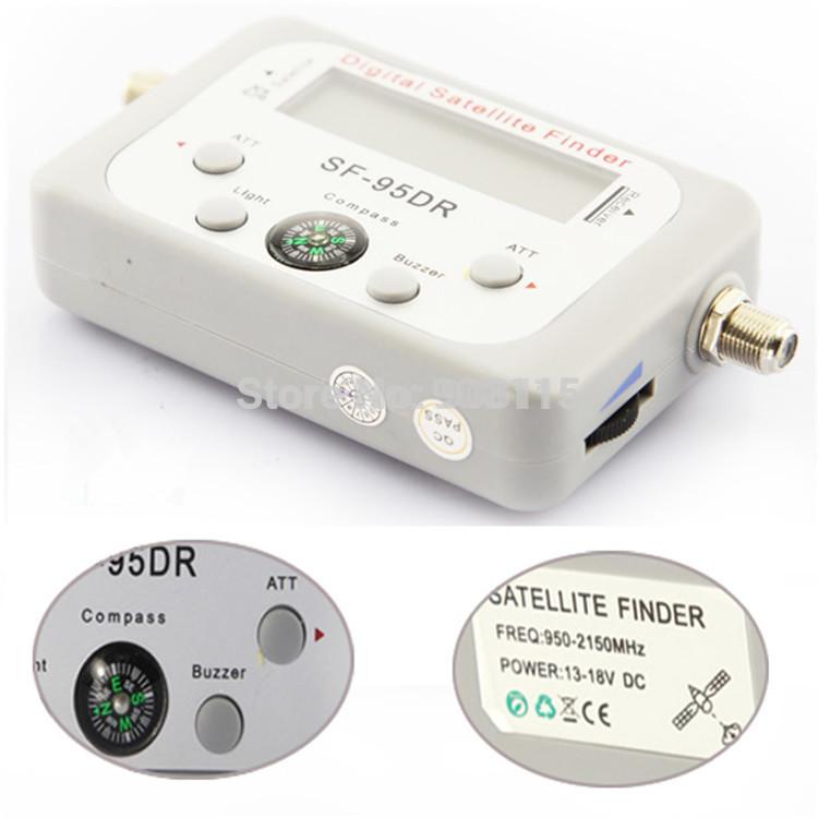 Satellite Signal Finder Meter Satfinder Tool LCD DIRECTV DISH FTA TV Singnal Finder receptor satellite digital hd(China (Mainland))