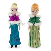 Frozen 2015 Brinquedos New Arrival 40cm Winter Elsa & Anna Frozen Plush Dolls Princess Dolls & Accessories