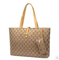 Hot-selling 2014 female formal buckle big bag all-match portable women's handbag one shoulder bag