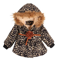New winter  children  outerwear  kids thicken cotton coat  girls warm  cotton-padded clothes  free shipping