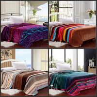 Queen 200*230CM ultra soft flannel blanket boutique coral fleece blanket blanket blanket blanket wedding leisure four seasons