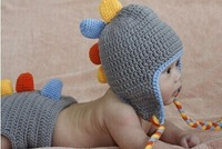 2014 hot selling Baby photography one hundred days the rounded dragon shape suits Free shipping