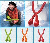 8pcs Winter Sports Toy Snow Ball Maker Sand Mold Snowball Maker Kids Snow Scoop Maker