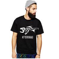 Free Shipping G. Loomis T Shirts Men Popular Fishing Gear Mens Shirt Printing O Neck Short Sleeve Man Tees Euro Size Clothing