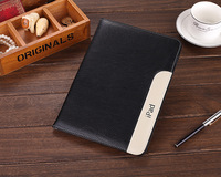 Luxury Ultra Slim Lambskin Cover For Apple ipad Air 5 Leather Case 7 Colors Covers Stand With Hand Holder Free Shipping