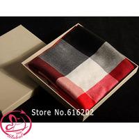 High Quality Winter Scarf Women Luxury Brand Scarfs Fashion Designer Cotton Ladies Long Shawl Striped Plaid Scarves Female Wrap