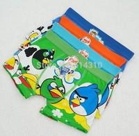 Free shipping 6pcs/lot baby boy cotton underwear kid cartoon panties  boys boxer briefs children fashion underpants