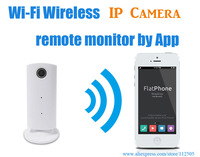 Smart Android and iPhone phone app View Wifi Wireless LED Webcam Internet Alarm Indoor IP Camera