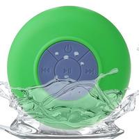 New Bluetooth Waterproof Wireless Shower Handsfree Mic Suction Chuck Speaker Gift
