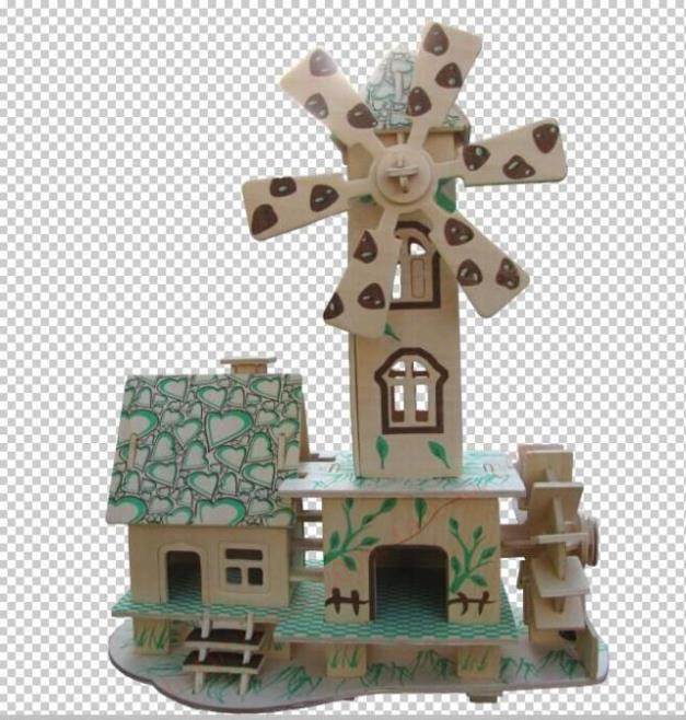 2015 New Sale 5-7 Years 12-15 Years Brinquedos Educativos 3d Puzzle Wooden Children's Educational House Model Forest Hut Toys(China (Mainland))