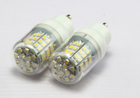 5pcs/Lot 110V 48 LED Lamps 3528 SMD GU10 3W Warm/Cold White Home Lighting A206