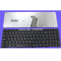 Free Shipping  new spanish keyboard for Lenovo V570 B570 Black Frame Spanish keyboard  sp