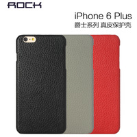 Original Rock Ultra Thin Jazziness Series Geniune Leather Cover Case For Iphone 6 plus