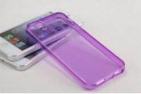 Case for iPhone 4G 4S 5S 5C 6G 6G PLUS  Ultrathin Transparent TPU Cover Phone Cases mobile phone bags & cases Brand New Arrive