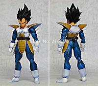 New Arrival Datong Dragon Ball S H Figuart Black Hair Saiyan Vegeta S.H.Figuarts Action Figure Dragon Ball Model Figure
