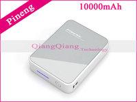 10000mAh 100% Original Power Bank Pineng PN-918 Portable Battery Charger For Android Phone/Ipad i6 Plus PK Xiaomi / Gray