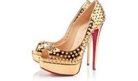 new 2015 women pumps brand shoes fashion red bottoms women pumps platform sexy night club rivets women high heels ladies shoes