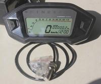 2015 Motorcycle Digital Odometer Speedometer Tachometer Gear Dirt Bike 1,2,4 Cylinder