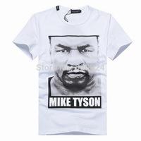 Men's T-shirt cotton -  Dolc Men's Round Neck Collar Sport T-Shirt Tee Shirt  D2 Muhammad Tyson head