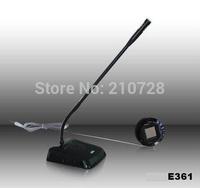 Promotion MY-E361 black full metal bank equipment bank window intercom system dual-way intercom speaker