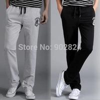 Sports pants Men Casual Sport Sweat Pants Training Dance Baggy Loose Trousers Slacks  high quality DR123