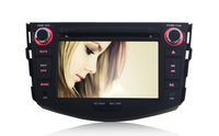 2 Din Android 4.4 Car DVD GPS Player For Toyota RAV4 GPS Navi Capacitive Touch Screen Radio Built-in WIFI/Bluetooth