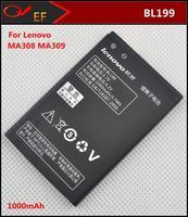 New BL199 Original Lenovo mobile phone 1000mAh  Battery  For Lenovo MA308 MA309