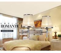 Wall lamp fashion creative European berth lamp room sitting room hotel engineering radial double head lamp