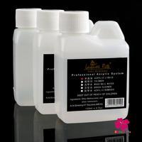 New Pro 3pcs/lot Nail Beauty Acrylic Liquid Set False Acrylic Nail Art 120ml  Manicure Tools UV Gel Nail Tips
