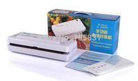 Electric Household White Plastic Vacuum food saver sealers machine portable multi-fonction