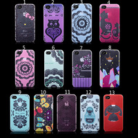 2014 New arrive Case For Iphone4s Cases For iPhone 4s phone case Hello kitty Design Pattern Protection shell Free shipping