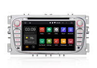 7 Inch 2 DIN Android 4.4 Car Audio for Ford focus Mondeo S-max Kuga GPS Navigation with HD screen,Canbus,Capacitive Screen
