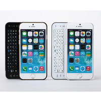 Wireless Bluetooth Keyboard Case For Apple iphone 6 Slide Foldable Keyboard For iPhone 6