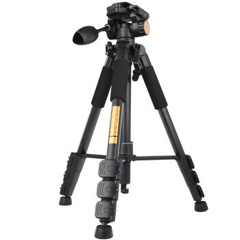 Штатив для камеры профессионального ExtendableTripode алюминий свет стенд 4 секции для DSLR камера Fotografica гибкая штативы