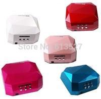 2014 Free Shipping 36W LED CCFL Nail Art Lamp Nail Dryer Nail Care Machine for UV Gel Nail Polish
