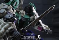 Eness metal swords for MMC Hexatron AKA Sixshot,In stock!