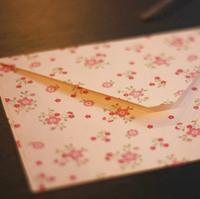 Tiny flowers styles envelopes, 50pcs/lot, free shipping
