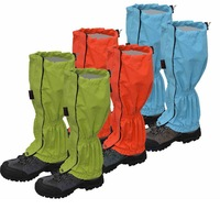 New Outdoor Warm Windbreak Waterproof  Foot Warmer Hiking Snow Cover  Skiing Snow Gaiter,4 Colors,Free Size,Free Shipping