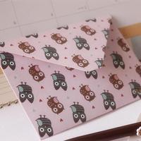 New sweet CUTE owl BIRD high quality envelopes /Fashion style