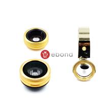 Mobile Accessories Camera Model Universal 3 in 1 Fisheye Macro Wide Angle Lens lente olho de peixe para celular appareil photo
