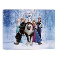 2014 new Frozen Queen pricess anna Elsa slow Paper Puzzles Educational Jigsaw Baby Toys New 96131-96133