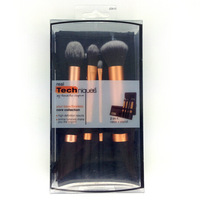 Promotion High quality Real Techniques New Makeup Brush Set / Kit Core Collection 4 Gold Brushes