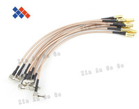 10pcs SMA female to CRC9 pigtail cable for HUAWEI 3G modem RG316 cable 15CM pigtail cable